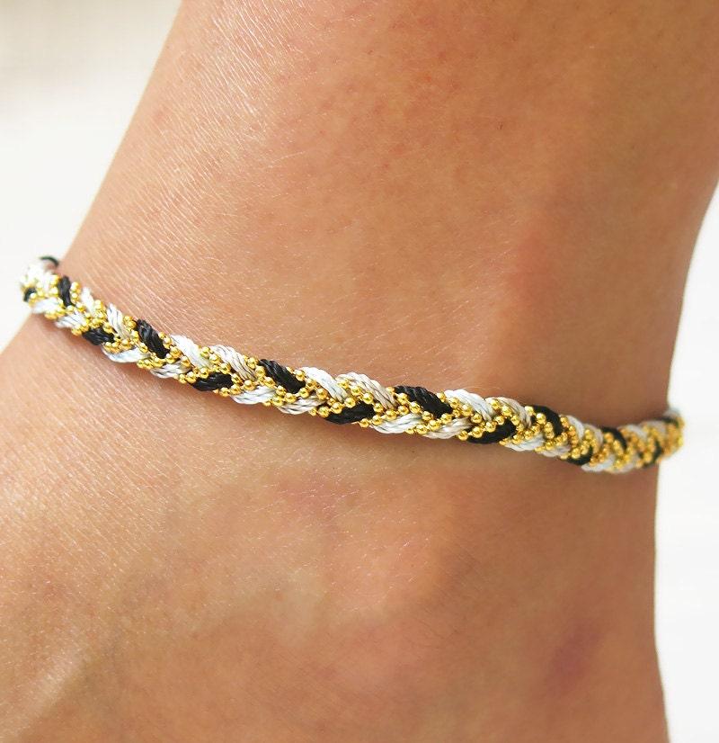 anklet anklet bracelet gold anklet chain anklet gold by ...
