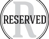 RESERVED for Andrew