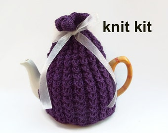 knitting kit for tea cozy pattern
