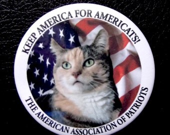 Keep America For Americats Button Pack