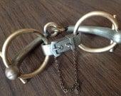 French Trotteur Equestrian Horse Snaffle Bit Bracelet – 1930s Jewelry