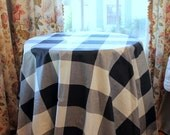 Buffalo Check P Kaufmann Round Table Skirt Available in Different Colors