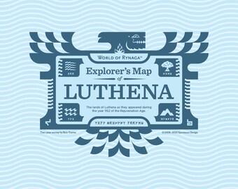 Explorer's Map of Luthena