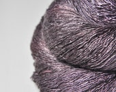 Enchanted old lady OOAK - Tussah Silk Lace Yarn