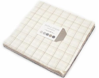 Pure and Simple Layer Cake From Moda fabrics
