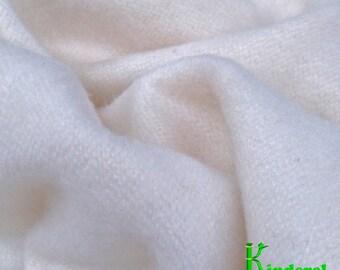 Bamboo Flannel Fabric, Certified Organic