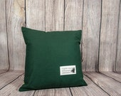 Hunter Pillow Cover, Accent Cushion Case, Complimentary Pillow Cover, Decorative Throw Cushion Cover, Earthy Living Room Sofa Accent