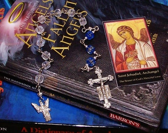 Unbreakable Catholic Chaplet of St. Jehudiel the Archangel - Patron of the Sacrament of Extreme Unction, Anointing of the Sick and Dying