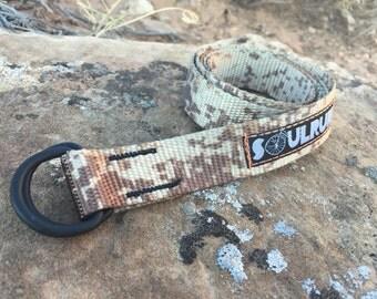 Soulrun Skinny Belt - Desert Camo
