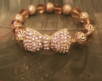 Wrapped up in a Bow Charm Bracelet