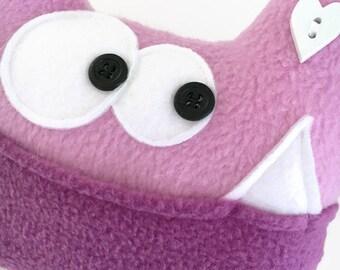 Tooth Fairy Pillow - Soft Monster Plush - Soft Stuffed Monster - Tooth Pillow, baby tooth pillow - Tooth Chart - Keepsake Pillow - Plushie