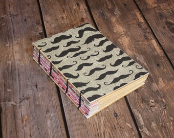 Mustaches Journal - Hostess Gift - Barber hairdresser Gift - Teen Gift - Unique Gift