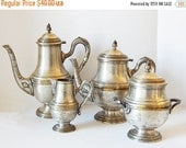 CLOSING 50% tea set vintage tea set teapots, jug and sugar bowl set