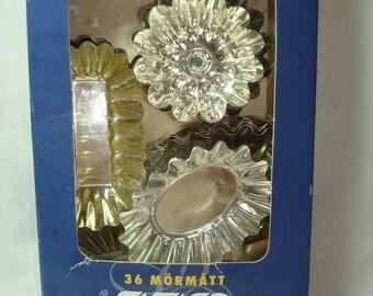 1992Sweden SVEICO Quality Tart Tartlet Tins.