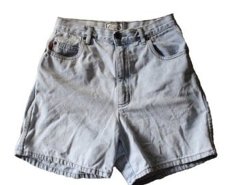 BLOWOUT 40% off sale Vintage Early 90s BUGLE BOY for Her Denim Shorts Women M