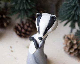 Eurasian Badger Figurine by Bonjour Poupette