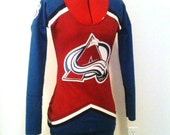 CHRISTMAS SPECIAL: One of a kind Colarado Avalanche Jersey Dress