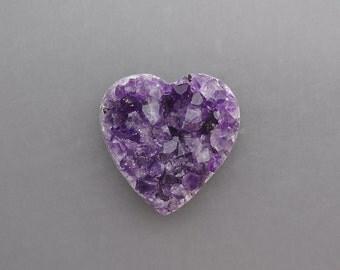 Amethyst Heart