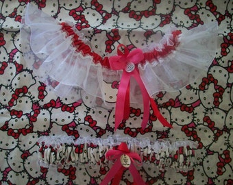 Hello Kitty Wedding Garter Set