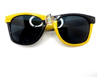 HufflePuff- Black and Yellow Hufflepuff House Inspired Wayfarers