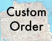 Custom I love you card