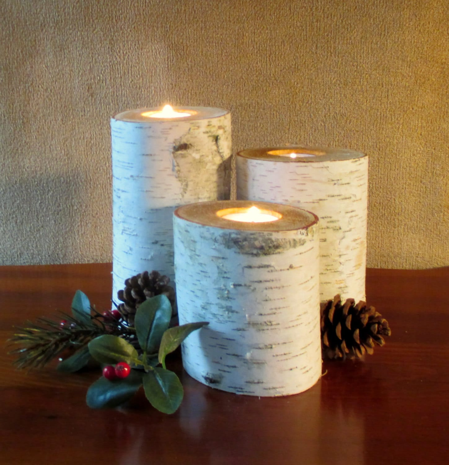 Home Decor Birch Candle Holders 753 Wedding by
