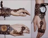 Mad Max winged watch cuff