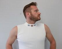 Vintage Snowflake Short-sleeved Turtleneck by Christopher & Banks