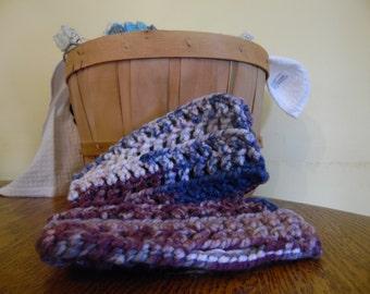 Crocheted finger less gloves/ hand warmers