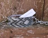 Bracelet by FortuneKeeper - Exit Uptown- Adjustable Bracelet Holds All That Inspires You