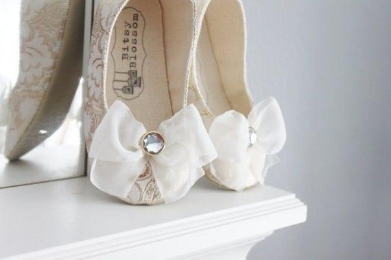 Baby Girl ShoesToddler Girl Shoes Soft Soled Shoes Wedding Shoes Flower Girl Shoes White Shoes Silver Shoes Cream Shoes Gold Shoes-Arabella