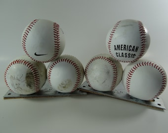 Old Pair of Baseball Book Ends Nike an American Classic