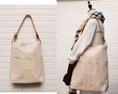Hobo bag , Handbag ,Tote , Leather straps ,  Casual Tote Bag,Purse ,Travel bag