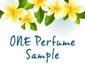 ONE PERFUME SAMPLE. Choose frm: Plumeria, Gardenia, Tuberose, Pikake, Orange Blossom, Island Girl, Island Bliss, Island Dreams, Maui Mermaid
