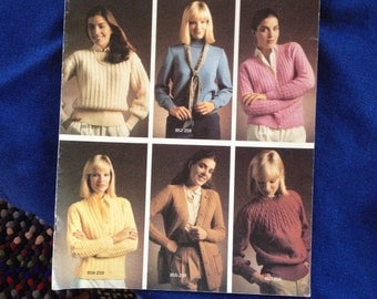 Six Wool Classics  BERNAT Book no 259