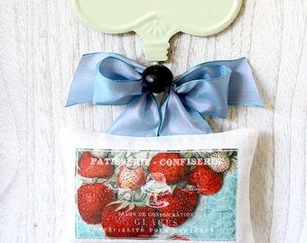 Linen Sachet- Sweet Strawberry