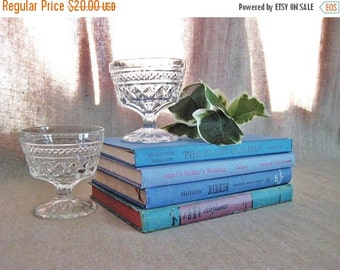Happy 4th with 40% Off Vintage Books in Shades of Blue for Wedding or Home Decor