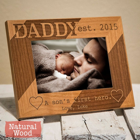 Dad And Son Personalized Picture Frame