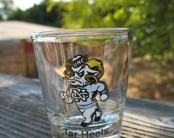 Vintage University of North Carolina at Chapel Hill MINT CONDITION Shot Glass