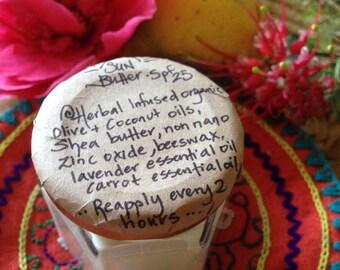 Herbal Non Toxic Sun Butter Spf