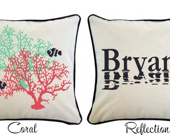 Personalized Canvas Pillow Cover