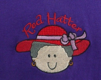 Red Hat T-shirt - Red Hatter