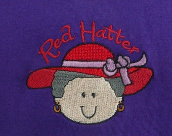 Red Hat Society T-shirt - Red Hatter