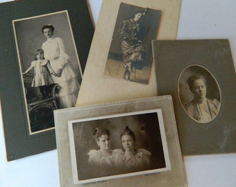Small to Large Format Photos, LOT, Photography, Antique, Vintage, Collectible Image