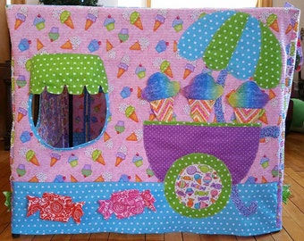 PATTERN for Honey Buns Sweet Shop, Card Table Playhouse