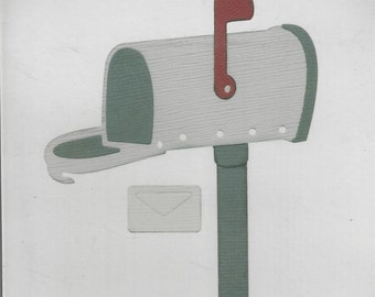 MAILBOX QuicKutz Revolution REV 0219 4X4 New in Package Cuttlebug Sizzix Scrapbooking Card Making Embossing Metal Die