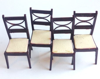 renwal vintage toy chair set
