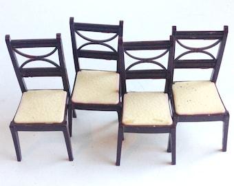 renwal vintage toy chair set