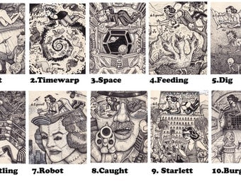 The do it yourself doodler book postcards by david jablow doodler series 20 to choose from solutioingenieria Image collections