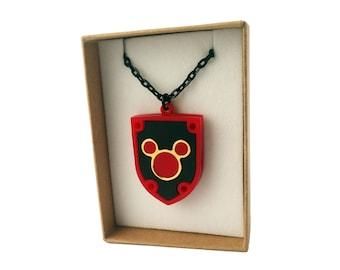 Kingdom Hearts Necklace - Mickey Mouse Dream Shield
